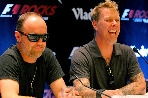 James Hetfield Lars Ulrich Metallica