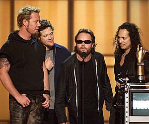 Metallica VH1 Music Awards